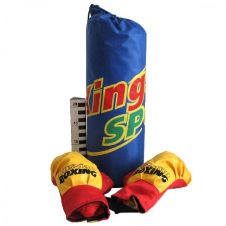 Боксёрский набор груша+перчатки с креплением King Sport